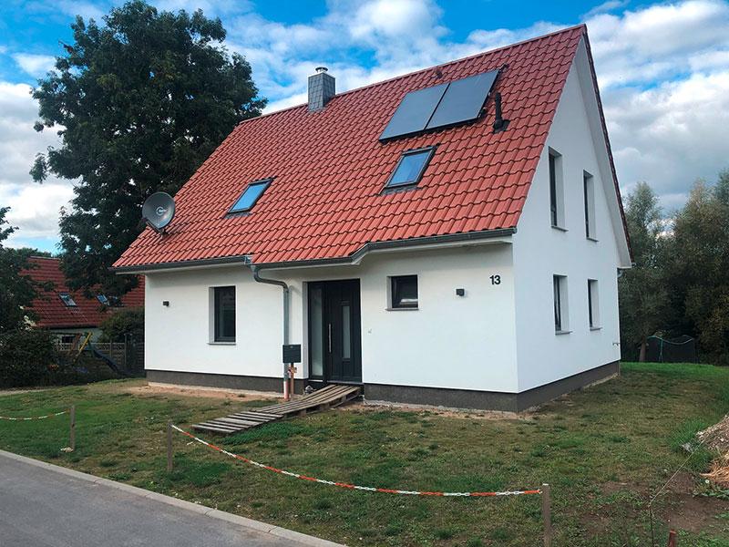 Einfamilienhaus in Bröbberow